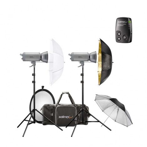 Walimex Pro Kit Flash VC-400/300 Excellence