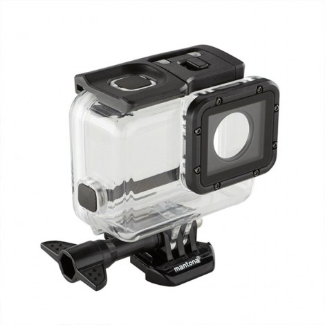 Mantona Caixa Estanque para GoPro Hero 5 / 6 / 7 Black