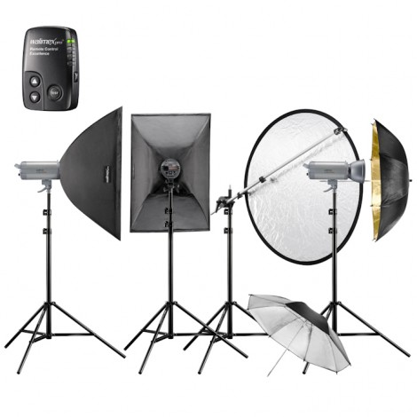Walimex Pro Kit Flash VC-400/400/300 Excellence