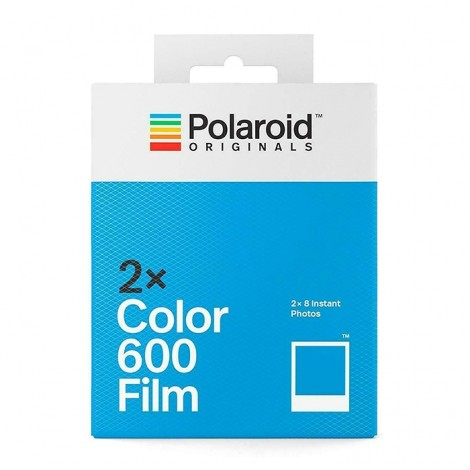 Polaroid 600 Color Film - Pack duplo