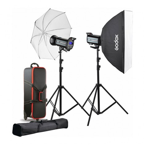 Godox Flash Kit Estúdio 2x QT600IIM