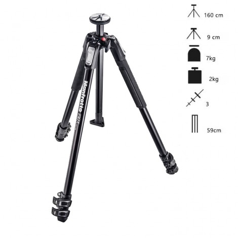 Manfrotto Tripé MT190X3