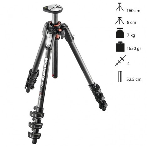 Manfrotto Tripé Carbono 190CXPRO4