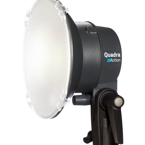 Elinchrom Flash Quadra Action