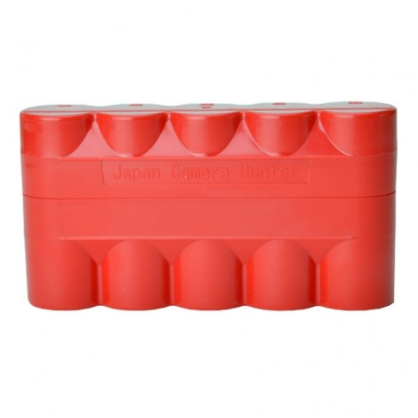 Japan Camera Hunter Film Case - 5 Rolos 120 - Vermelho