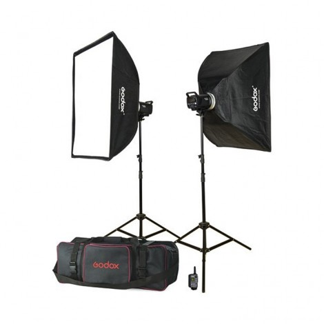 Godox Flash Kit Estúdio 2x MS300