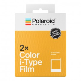Polaroid i-Type Color Film - Pack duplo