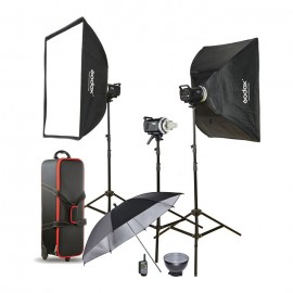 Godox Flash Kit Estúdio 3x MS300