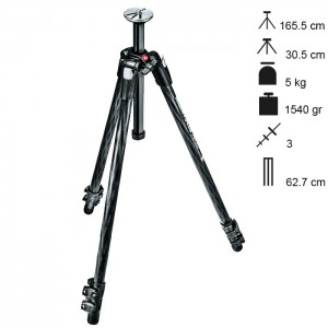Manfrotto Tripé Carbono MT290XTC3