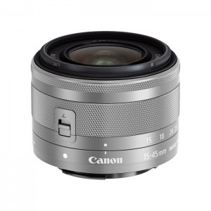 Canon EF-M 15-45mm f/3.5-6.3 IS STM - Silver