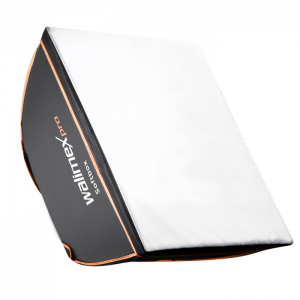 Walimex Pro Softbox Quadrada 40x40cm - Orange Line