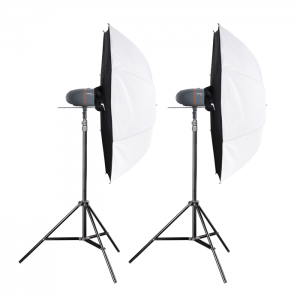 Walimex Pro Kit Flash Newcomer 150/150 com Sombrinhas Light Box