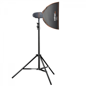 Walimex Pro Kit Flash Newcomer 300 com Softbox
