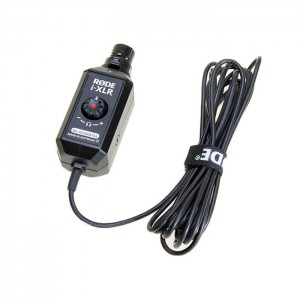 Rode i-XLR - Adaptador XLR para Dispositivos iOS