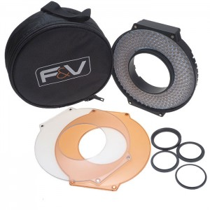 F&V R300 SE Daylight LED Ring Light