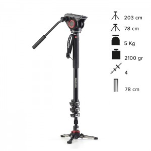 Manfrotto Monopé Vídeo MVMXPRO500