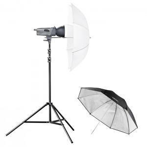Walimex Pro Kit Flash VE-150 Excellence com Sombrinha