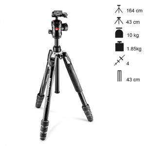 Manfrotto Tripé Compacto BeFree GT