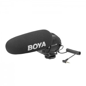 Boya BY-BM3031 - Microfone Shotgun para Video-DSLR