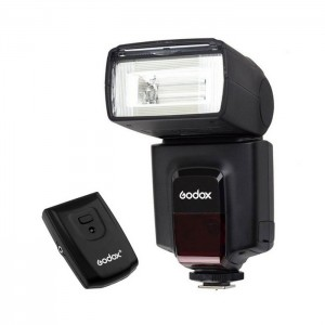 Godox Flash Speedlite TT520 II + Trigger