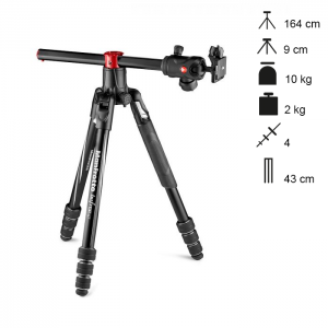 Manfrotto Tripé Compacto Befree GT XPRO Twist Lock