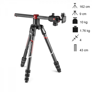 Manfrotto Tripé Carbono Compacto Befree GT XPRO Twist Lock