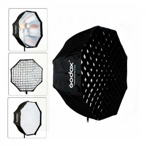 Godox Sombrinha Softbox Octogonal c/ Grelha 120cm