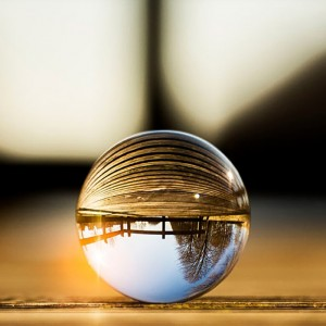 Lensball Bola de Vidro - 90mm