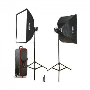 Godox Flash Kit Estúdio 2x MS200