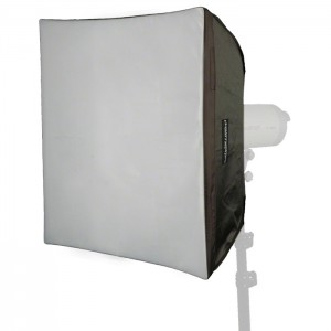 Walimex Pro Kit Softbox Quadrada 60x60cm para Elinchrom