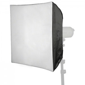 Walimex Pro Kit Softbox Quadrada 60x60cm para Visatec