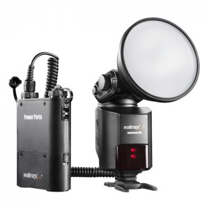 Walimex Pro Conjunto Flash Light Shooter 360 c/ Power Porta