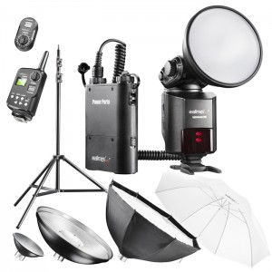 Walimex Pro Kit Flash Light Shooter 360 - Estudio Portátil