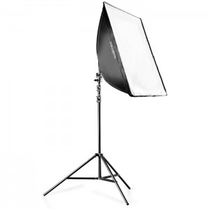 Walimex Kit Luz Daylight 250 com Softbox 40x60cm e Tripé