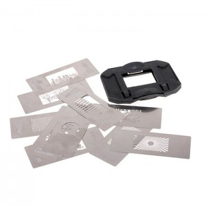 Light Blaster Pro Gobo Kit 1 - Slides com Gobos