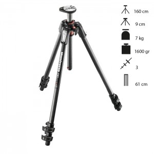 Manfrotto Tripé Carbono 190CXPRO3