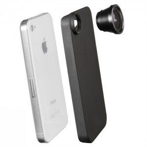 Walimex Lente Fish-Eye para iPhone 4/4S