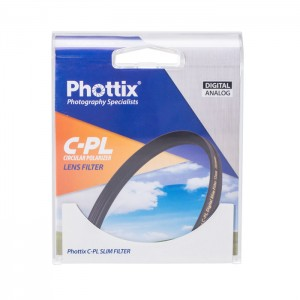 Phottix Filtro Polarizador PRO Digital Ultra Slim 55mm