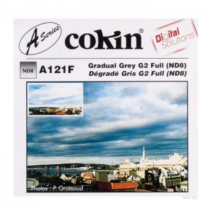 Cokin Filtro Degradê ND8 Full (3 F-stops) - A121F - S