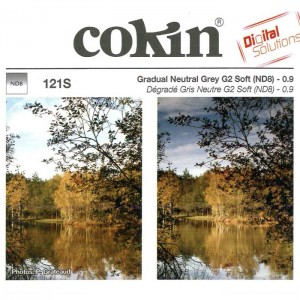 Cokin Filtro Degradê ND8 Soft (3 F-stops) - A121S - S