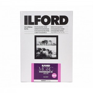 Ilford Papel Multigrade RC 13x18 Brilhante - Pack 25fls