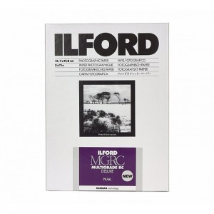 Ilford Papel Multigrade RC 13x18 Pérola-Mate - Pack 25fls