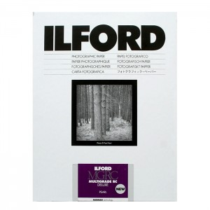 Ilford Papel Multigrade RC 18x24 Pérola-Mate - Pack 25fls