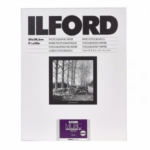 Ilford Papel Multigrade RC 24x30 Pérola-Mate - Pack 10fls