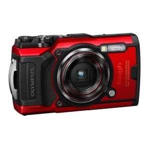 Olympus Tough TG-6 - Vermelha