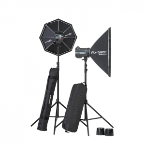 Elinchrom Kit BRX 500/500 To Go com Softboxes